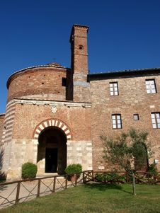 Montesiepi Hermitage Royalty Free Stock Images