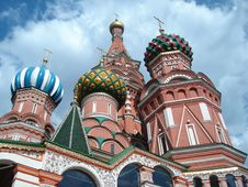 Free Saint Basil S Cathedral Royalty Free Stock Images - 6025379