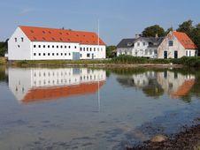 Free Mansion Big Farmhouse Funen Denmark Royalty Free Stock Image - 6025486