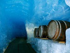 Free 19 M Under A Glacier Royalty Free Stock Photos - 6026548