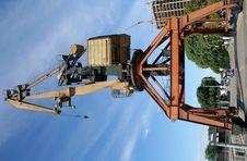 Free Shipping Crane Stock Photography - 6026562