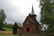 Free Stave Church Stock Photography - 6026872