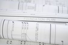 Free Blueprints Royalty Free Stock Images - 6027109