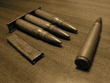 Free Rifle Cartridges. Stock Photo - 6028330