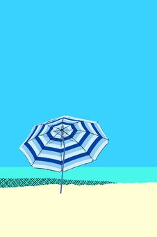 Free Beach Umbrella Royalty Free Stock Image - 6028606