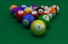 Free Pool Balls Stock Images - 6028634