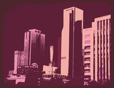 Free Urban Background Royalty Free Stock Image - 6028846