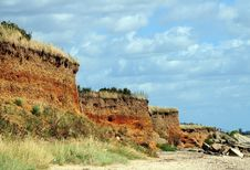 Free Sandy Cliffs Royalty Free Stock Image - 6028946