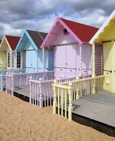 Free Beach Huts Stock Photography - 6029032