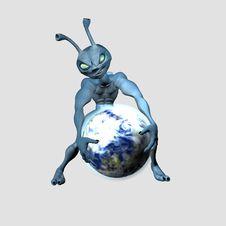 Free Alien Stock Image - 6029631