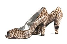 Beautiful Fashionable Female Shoes From A Leather Royalty Free Stock Image