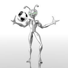 Free Alien Royalty Free Stock Photo - 6029705