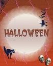 Free Halloween Frame Royalty Free Stock Photos - 6030738