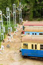 Free Old Trains On Side Track Royalty Free Stock Image - 6031676