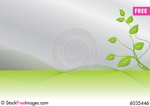Free Green And Silver Background Royalty Free Stock Image - 6035446