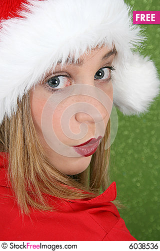 Free Christmas Teen Royalty Free Stock Image - 6038536