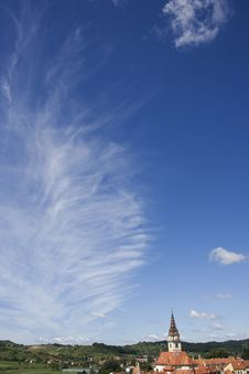 Free Sky Church Stock Photo - 6030540