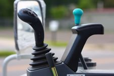 Free Joystick On Construction Truck Royalty Free Stock Image - 6030866