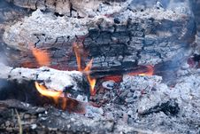 Free Cook Out Fire Royalty Free Stock Photos - 6031328