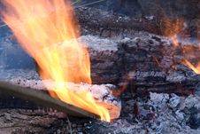 Free Cook Out Fire Royalty Free Stock Images - 6031349