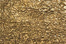 Free Metallic Crumpled Paper Royalty Free Stock Photos - 6032288