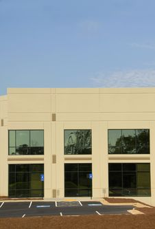 Modern Commercial Office Building Stock Photos