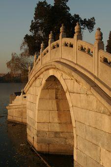 Free Chinese Stone Bridge Stock Image - 6032771