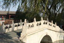 Free Bridge Under Willow Stock Photos - 6032793