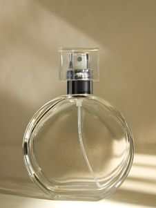 Free Empty Perfume Bottle Royalty Free Stock Photos - 6033028