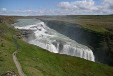 Free Gullfoss Waterfalls Stock Photography - 6033502