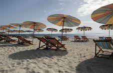 Free Colorful Beach Umbrellas Royalty Free Stock Image - 6033646