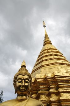 Free Buddha And Wat Stock Images - 6034334