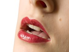 Free Girl Lips Stock Images - 6034614