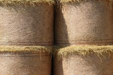 Free Straw Bales Background Stock Images - 6034624