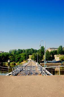 Free Small Walk Bridge Stock Photos - 6034743