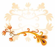 Free Floral & Autunm  Banner Royalty Free Stock Photos - 6035088