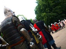Knight S Tournament Stock Photo
