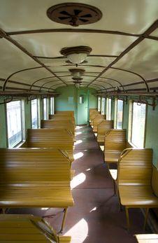Free Empty Train Stock Image - 6035251