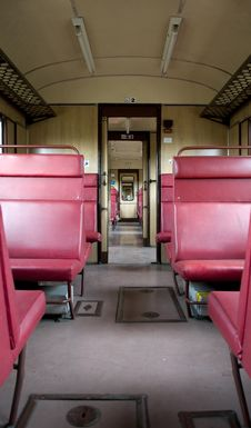 Free Empty Train Stock Photography - 6035252