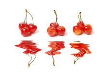 Red Cherry Royalty Free Stock Photos