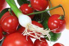 Free Fresh Summer Vegetables. Stock Photo - 6035410