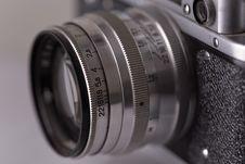 Free Close-up Of Retro Camera Lenses, Soft Focus Royalty Free Stock Photo - 6035915