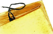 Free Old Grunge Notebook Stock Photo - 6036450
