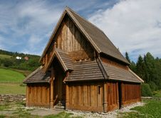 Free Stave Church Royalty Free Stock Photo - 6037155