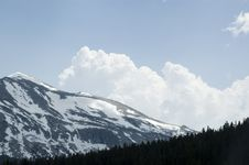 Free Clouds Rising Over Mountains Royalty Free Stock Photo - 6037665