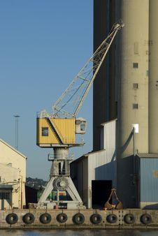 Harbour Crane Royalty Free Stock Photo