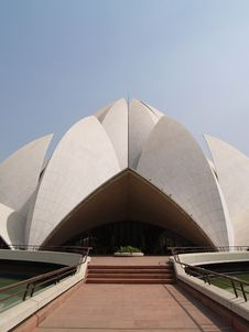 Free Bahai Temple India Stock Photos - 6037723