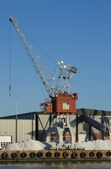 Free Harbour Crane Stock Images - 6037814