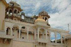 Free Beautiful View Of City Palace, Udaipur Royalty Free Stock Image - 6037896