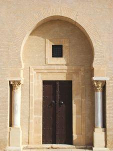 Tunisian Door Royalty Free Stock Images